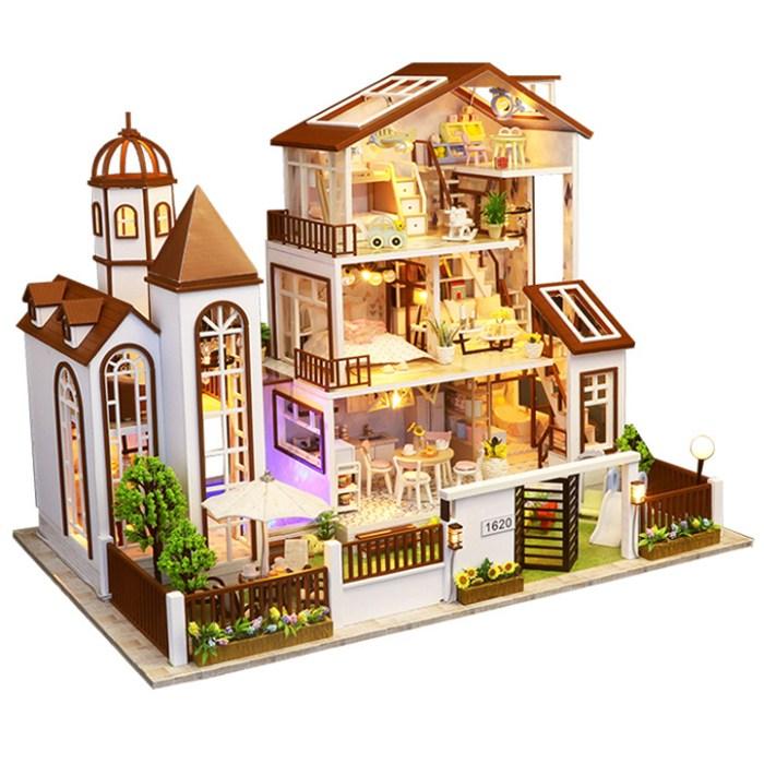 옥탑방어른이 DIY 미니어처 하우스 만들기 세트