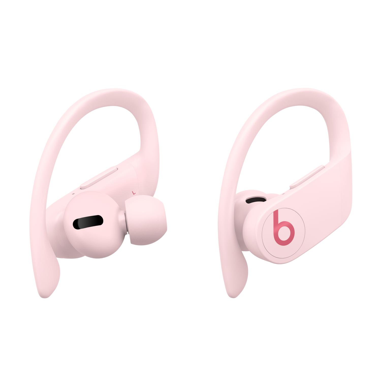 Apple 파워비츠 프로 블루투스 이어폰, MXY72ZP/A, Cloud Pink