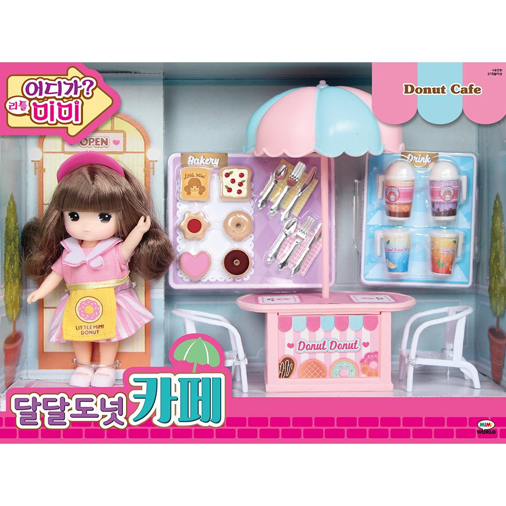 미미월드 어디가 리틀 미미 달달도넛 카페 장난감, 혼합색상