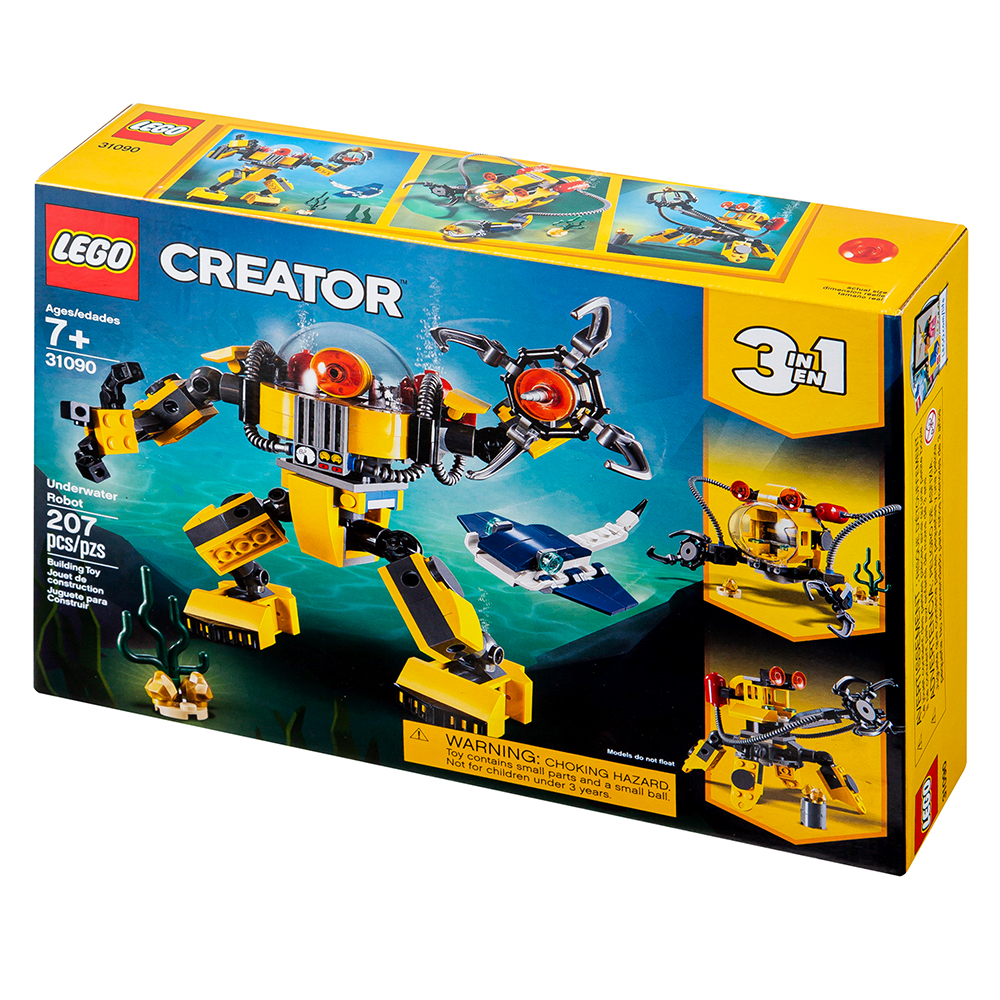 레고 크리에이터 수중 로봇 블록놀이 31090, 혼합색상