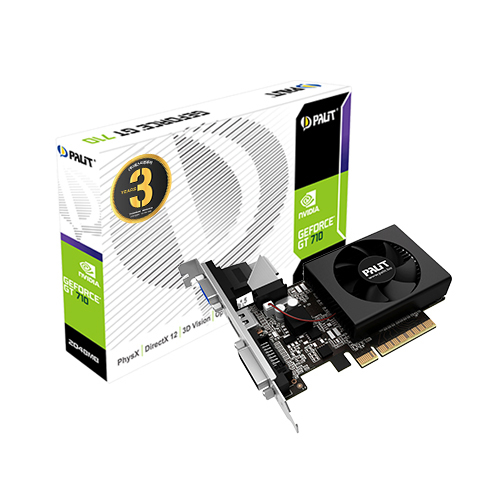 PALIT 지포스 GT710 D3 2GB 그래픽카드