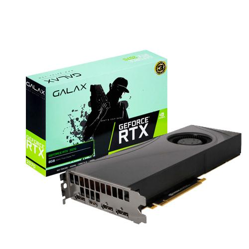갤럭시 GALAX 지포스 RTX 2070 V2 D6 8GB 그래픽카드 BLOWER, 단일상품