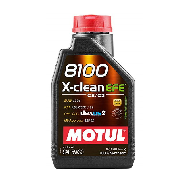 모튤 디젤 엔진오일 8100, 1개, X-clean EFE 5W30