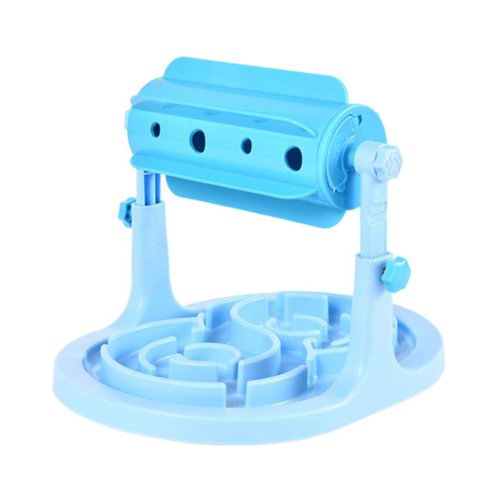 딩동펫 반려동물 IQ트레이닝 간식볼 장난감 25 x 21~25 x 32 cm, 블루, 1개 (POP 197177308)
