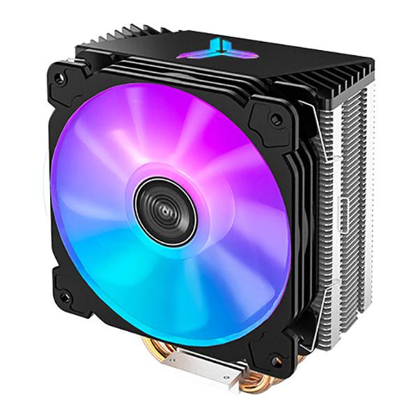 브라보텍 JONSBO CR-1000 ARGB CPU 쿨러 블랙, 단일상품