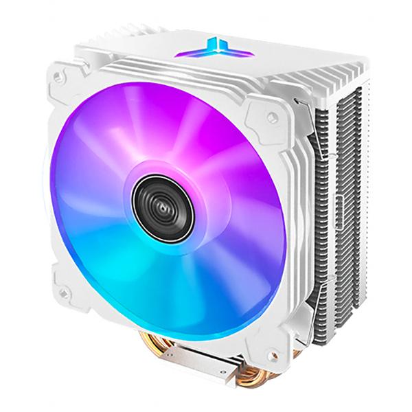 브라보텍 JONSBO CR-1000 ARGB CPU 쿨러 화이트, 단일상품