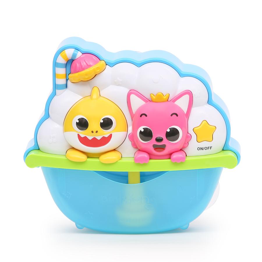핑크퐁 아기상어 멜로디 버블 목욕놀이완구, 혼합색상