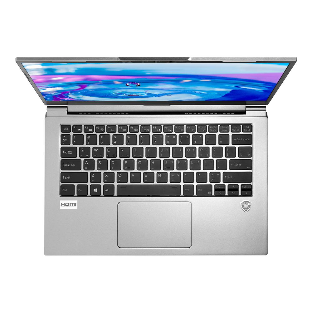주연테크 올데이 슈퍼플라이 울트라 캐리북 Cool Gray J7FCWP_5SUP (10세대 i5-10210U 35.56cm WIN10 Pro intel UHD Graphics), 16GB, Nvme 512GB, 포함