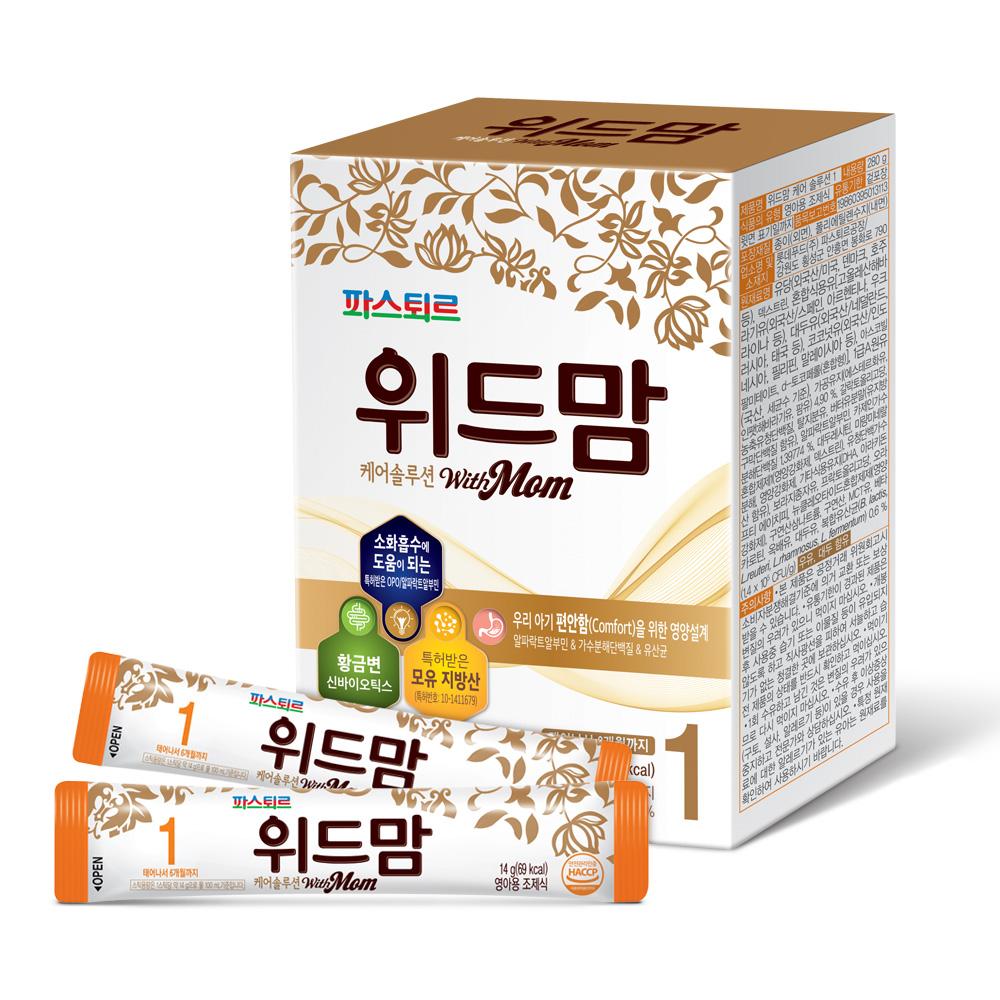 위드맘 케어솔루션 스틱분유 1단계, 1개입, 1개