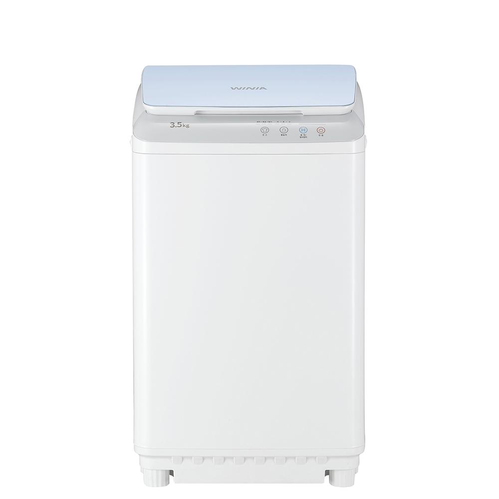 위니아딤채 미니크린 세탁기 WMT03BS5D 3.5kg 방문설치