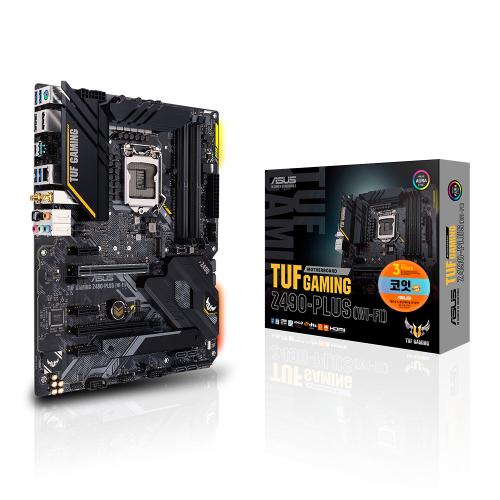 ASUS TUF Gaming Z490-PLUS WI-FI (코잇), TUF Gaming Z490-PLUS WIFI