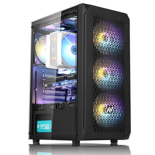 쿠팡 로켓추천 PC No.8 (i5 9400F WIN미포함 16GB 256GB SSD Radeon RX570), 기본형