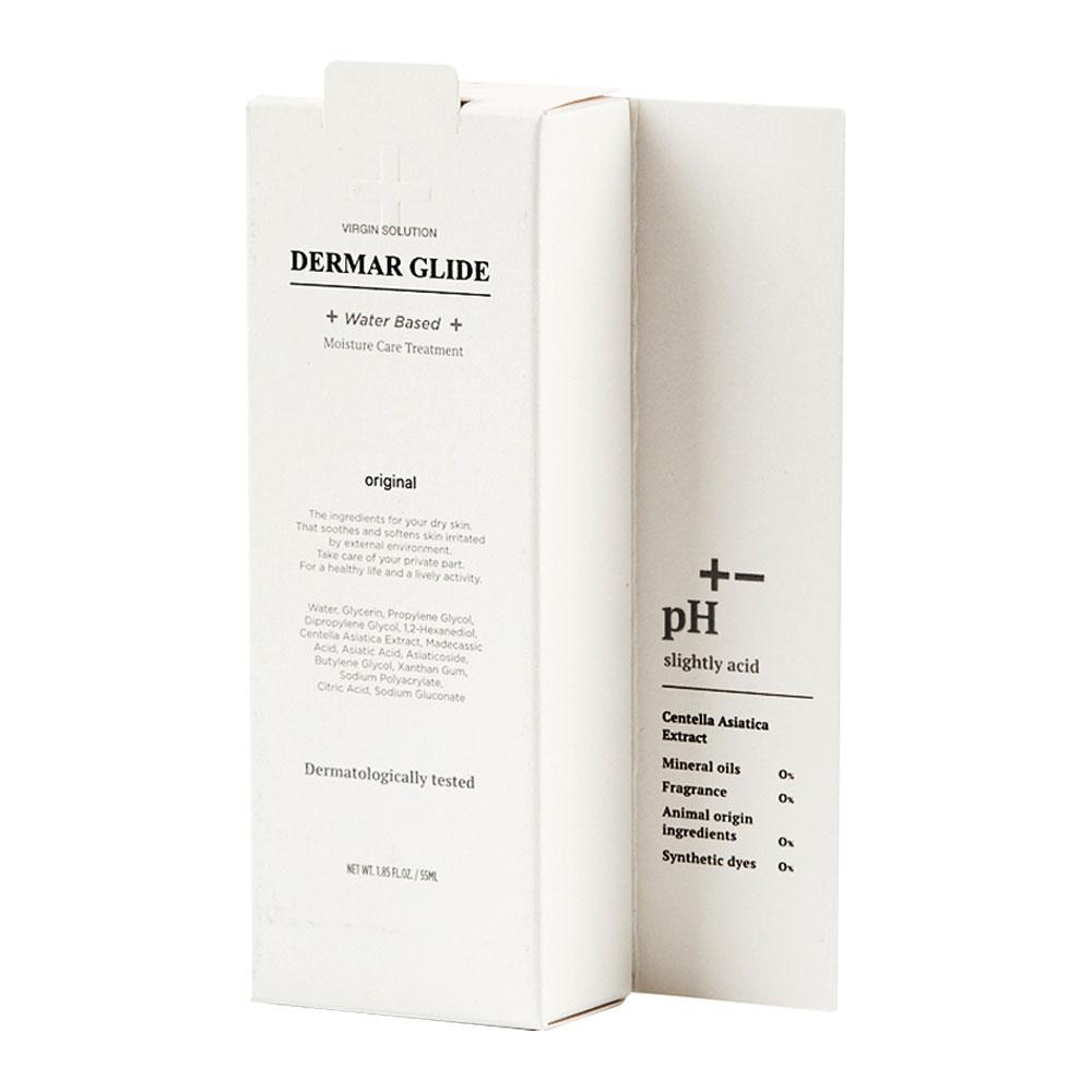 버진솔루션 더마 글라이드 수용성 러브 마사지젤 캡용기형, 55ml, 1개