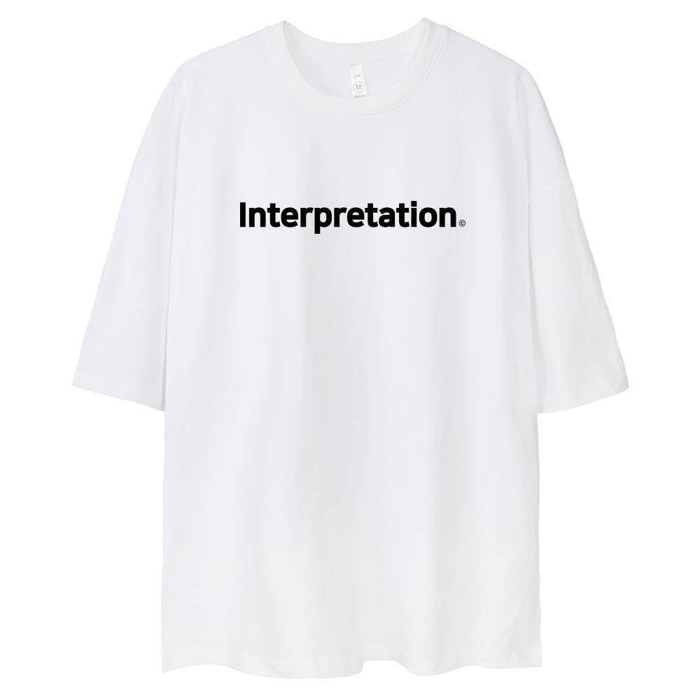 [벤힛] 벤힛 INTERPRETATION 오버핏 반팔티셔츠 - 랭킹4위 (15900원)