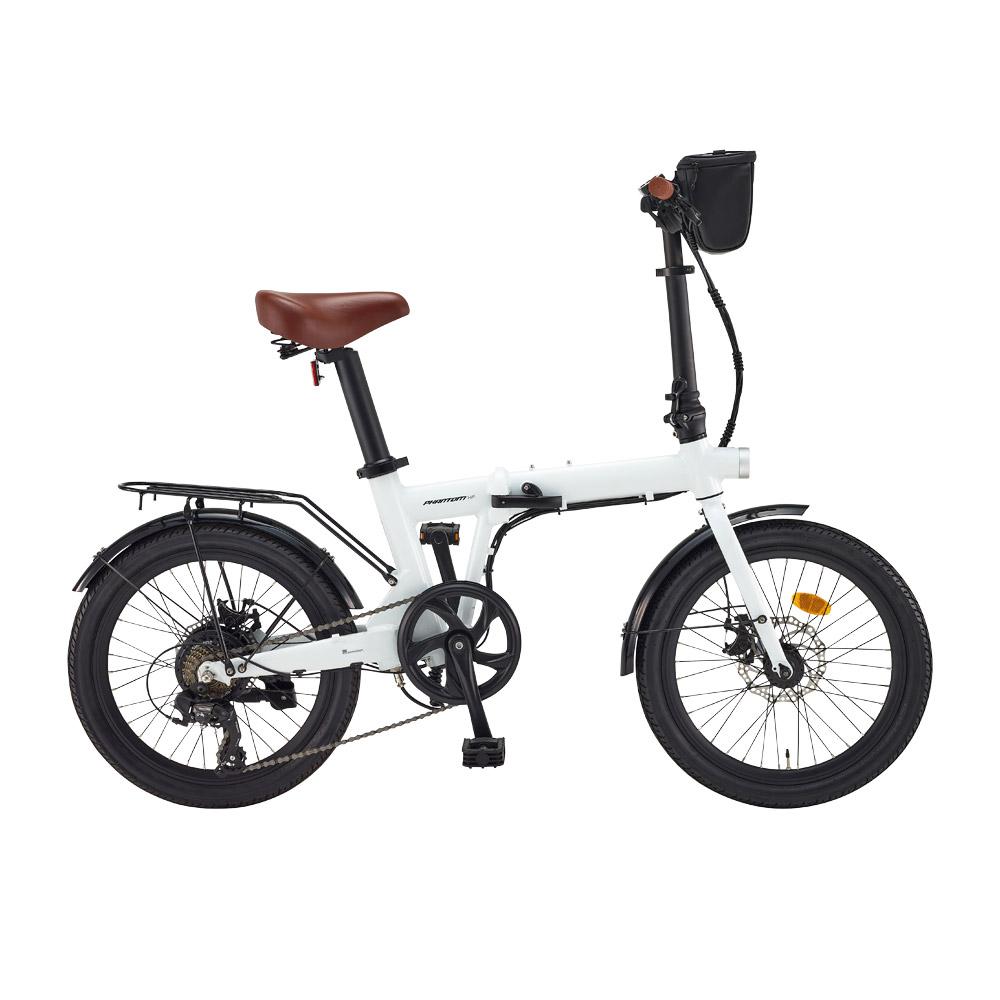삼천리자전거 팬텀 HF 7단 50.8cm 전기자전거 2020, 화이트