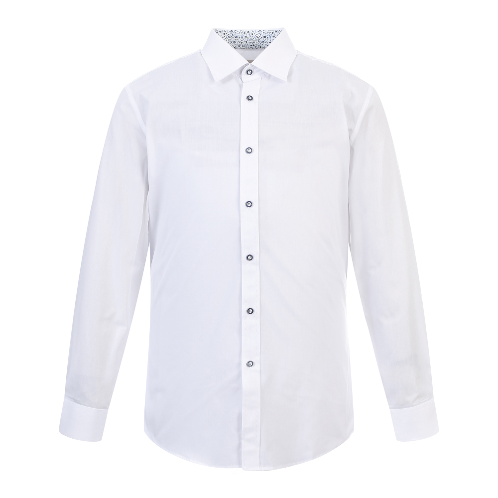 까망베르 남성용 구김방지 슬림핏 긴팔 와이셔츠 S909