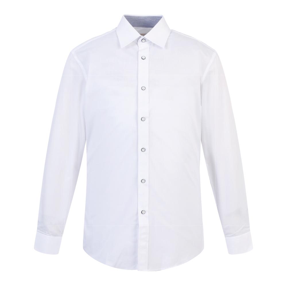 까망베르 남성용 구김방지 슬림핏 긴팔 와이셔츠 S908