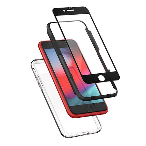 신지모루 3D 풀커버 휴대폰 강화유리필름 + 에어클로 케이스