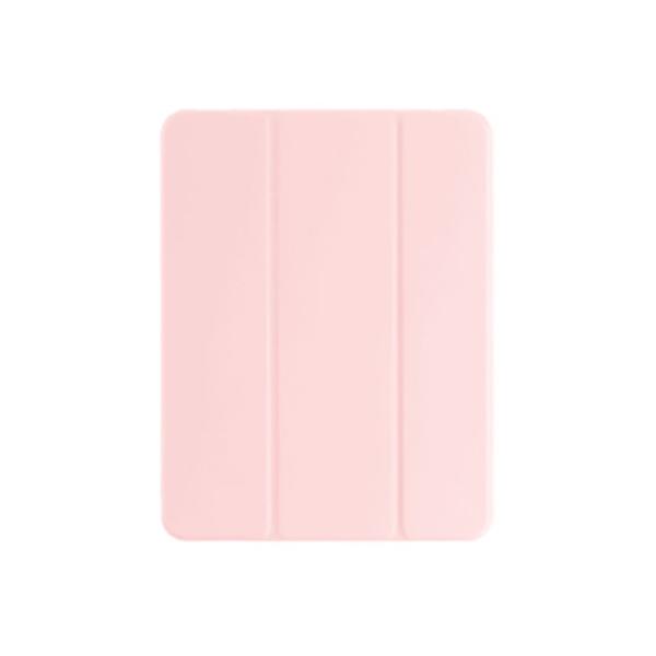 오펜트 마카롱 펜슬 수납 홀더 슬림 태블릿PC 케이스, 분홍우유