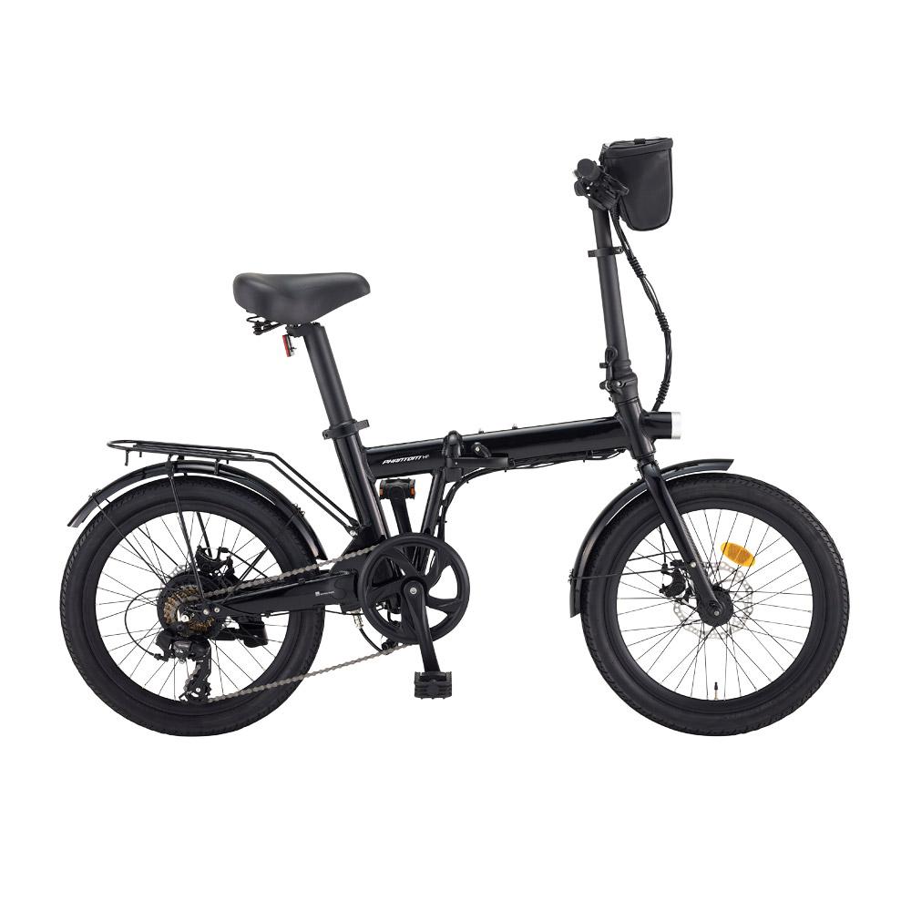 삼천리자전거 2020 팬텀 HF 7단 50.8cm 전기자전거, 블랙