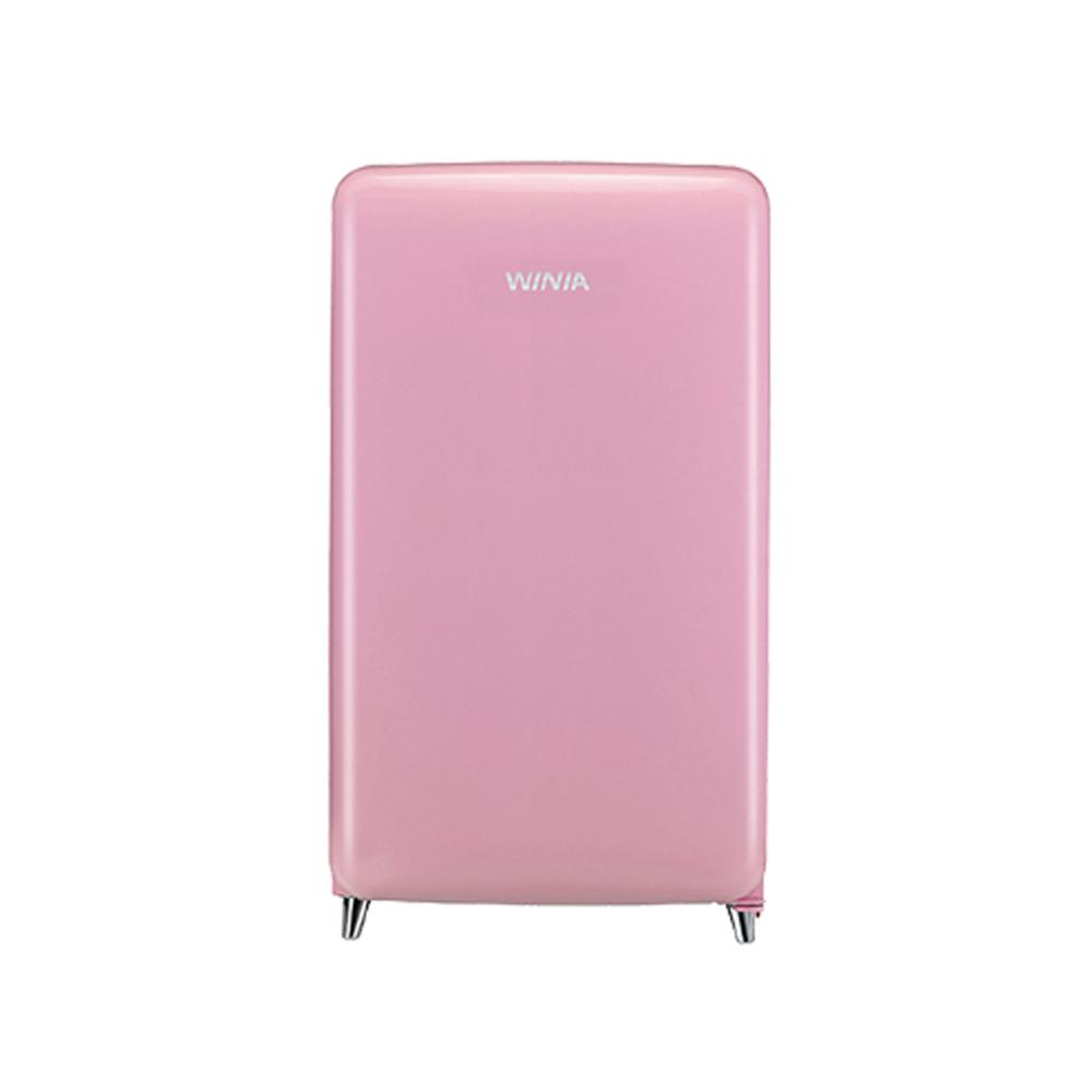 위니아딤채 소형 냉장고 칵테일 핑크 118L ERT118CP 방문설치, ERT118CP 핑크