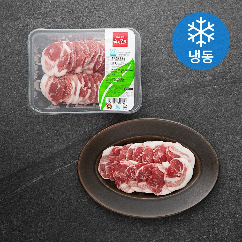 하이포크 돼지고기 뽈항정 (냉동), 500g, 1팩