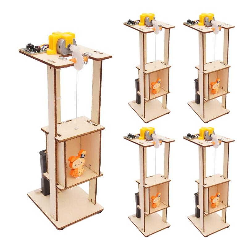 티처스 STEAM 과학교구 엘리베이터 승강기 DIY 만들기 세트 G-21, 5세트