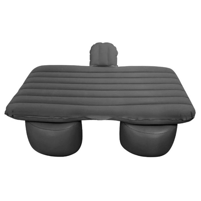아리코 차박캠핑 일자무늬 에어매트 + 분리형 숏블럭 세트, 블랙, 1세트