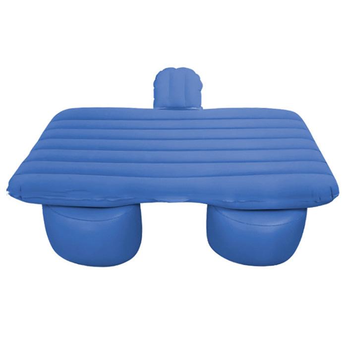 아리코 차박캠핑 일자무늬 에어매트 + 분리형 숏블럭 세트, 블루, 1세트