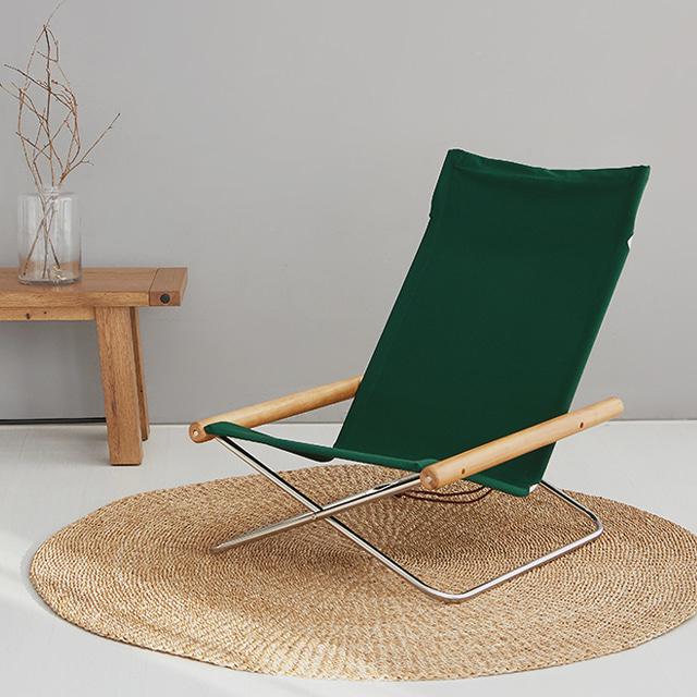 [안락의자] 마켓비 SISTTO 티크나무 안락의자, 다크그린 - 랭킹10위 (151060원)