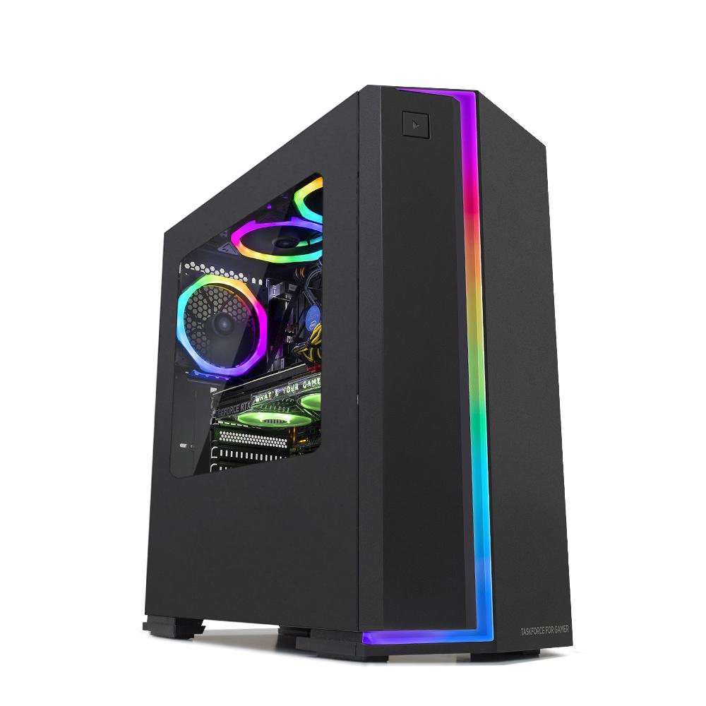 한성컴퓨터 데스크탑 TFG AX3355W (WIN10 AMD 라이젠3 3300X 8GB NVMe 256GB RX 5500XT), RAM 8GB