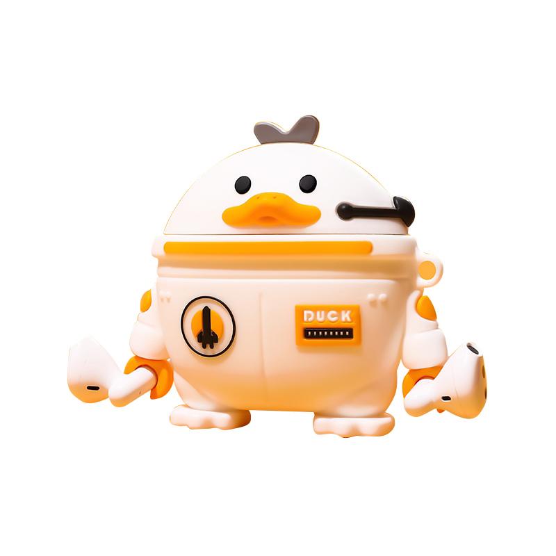 폰슈 스페이스덕 에어팟 프로 3세대 케이스, 단일상품, 화이트
