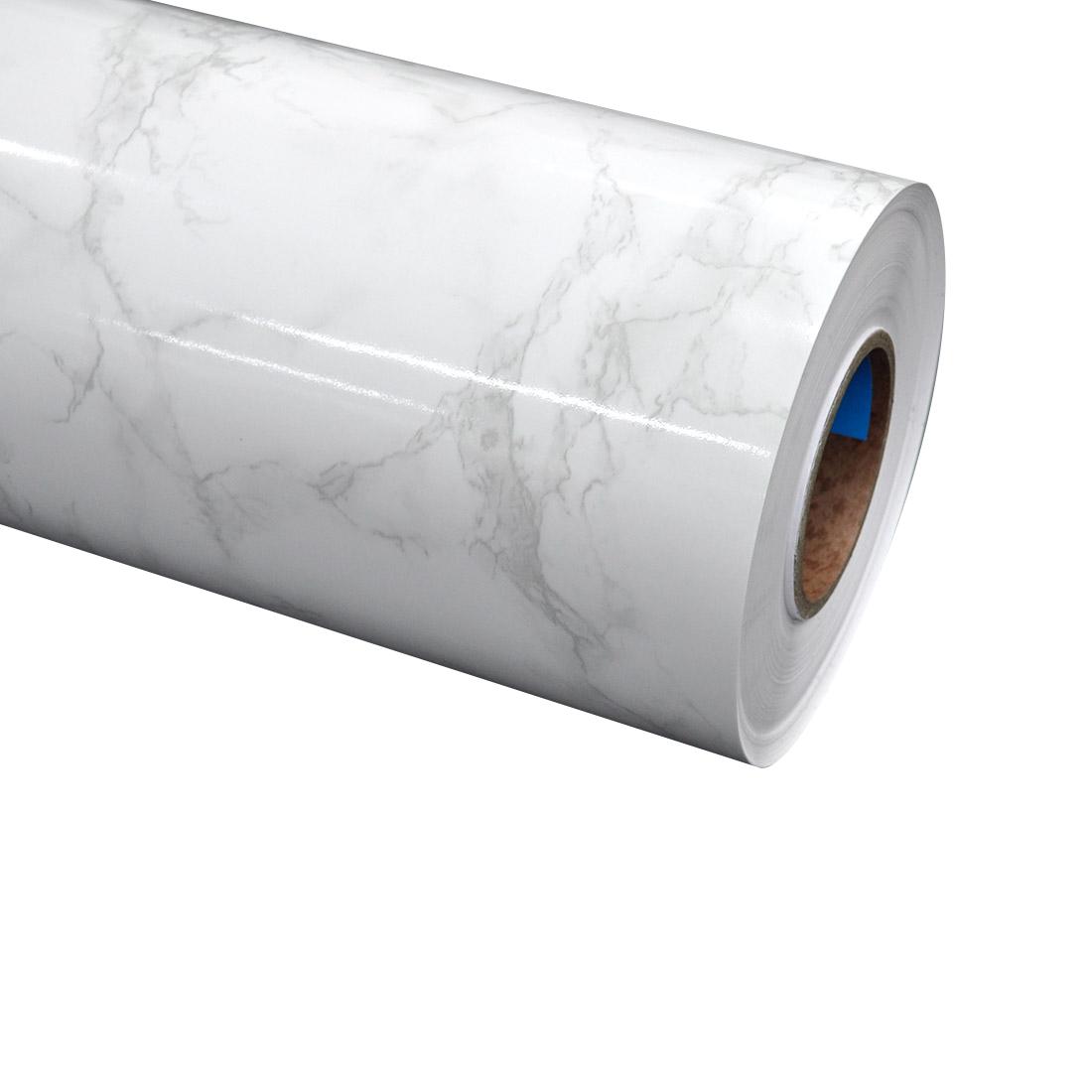 [인테리어 필름 시트지] 현대시트 인테리어필름 시트지, 마블대리석 다크화이트 유광(GEH150) - 랭킹1위 (84780원)