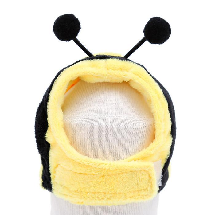 딩동펫 반려동물 귀염뽀짝 동물모자 꿀벌, 혼합색상