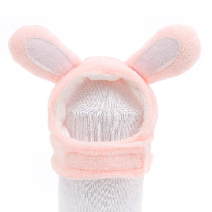 딩동펫 반려동물 귀염뽀짝 동물모자 토깽이, 핑크
