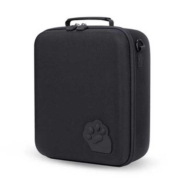 닌텐도 스위치용 고양이 발바닥 수납가방, 블랙, 1개