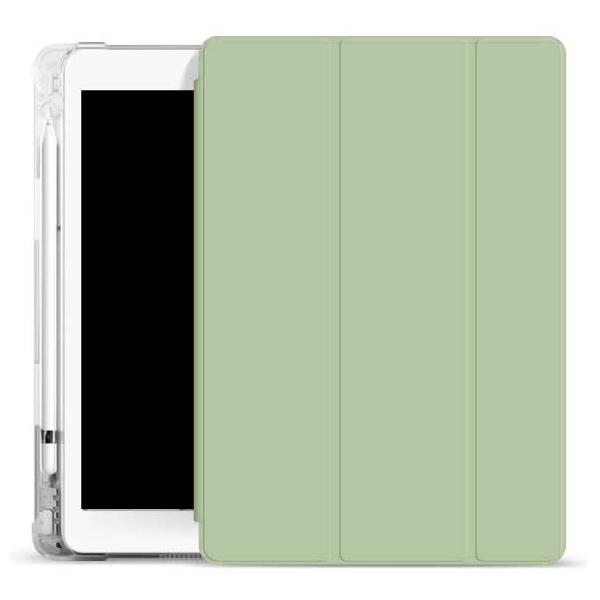 오펜트 소프트 펜슬수납 태블릿PC 케이스, 올리브그린