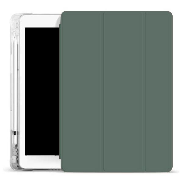 오펜트 소프트 펜슬수납 태블릿PC 케이스, 미드나잇그린