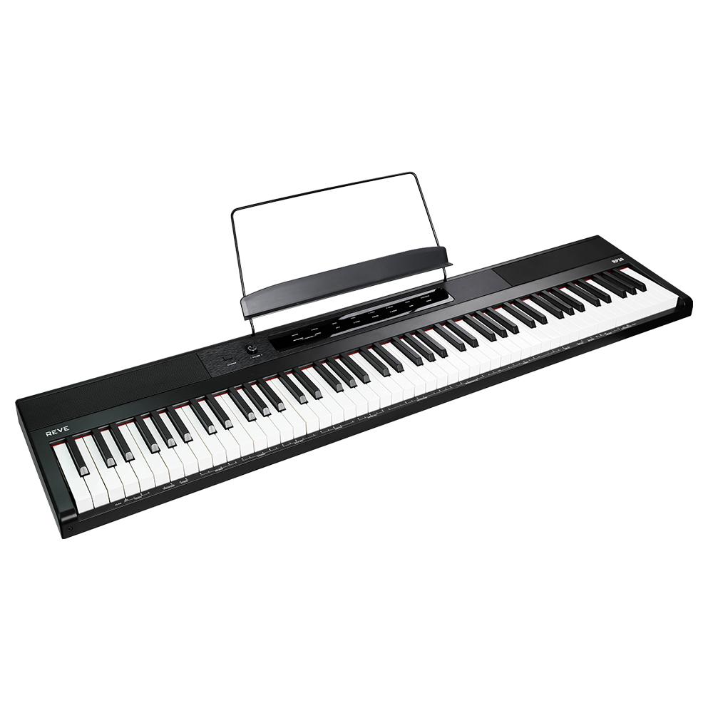 REVE 88건반 터치 인터페이스 디지털피아노 RP20, 혼합색상