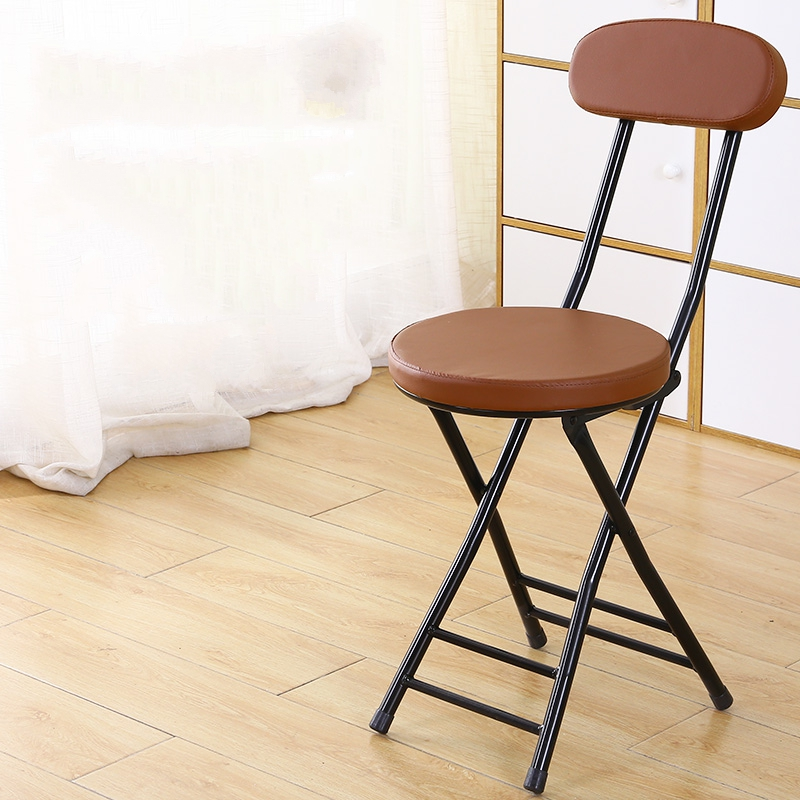 가팡 철제 빈티지 접이식 등받이 의자, 6810