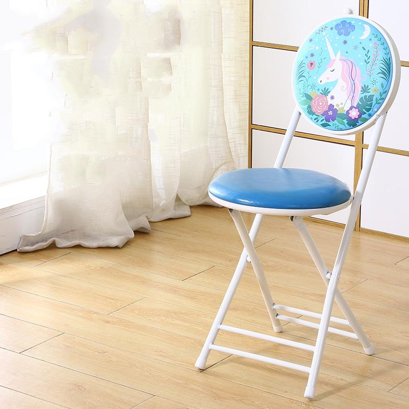 가팡 철제 빈티지 접이식 등받이 의자, 6803