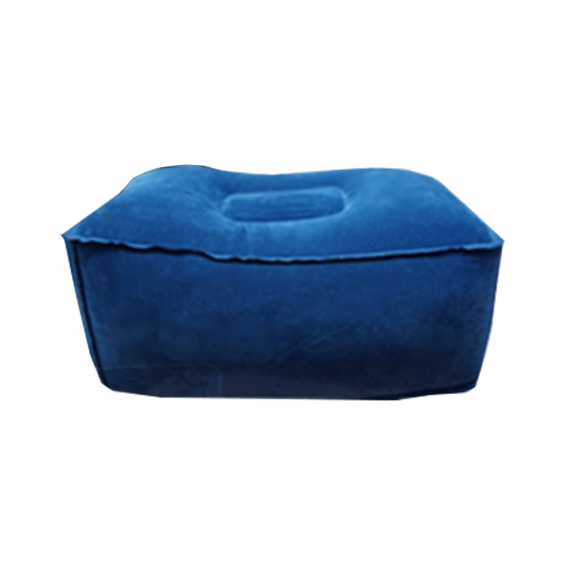 브로키 3단 차량용 발받침 + 파우치 + 오염 방지 커버, 블루