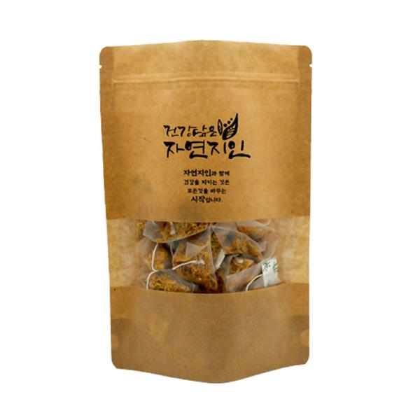 자연지인 메리골드 삼각티백, 100개