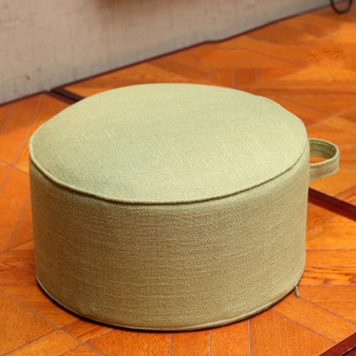 더플로우 공중부양 두꺼운 이동식 방석 의자, 라이트그린