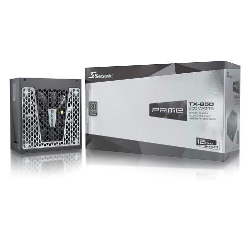 시소닉 PRIME TITANIUM TX-850 Full Modular ATX SSR-850TR