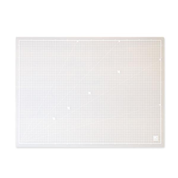 윈스타 TEO918806PP슬림 커팅 매트 데스크매트/패드, 화이트
