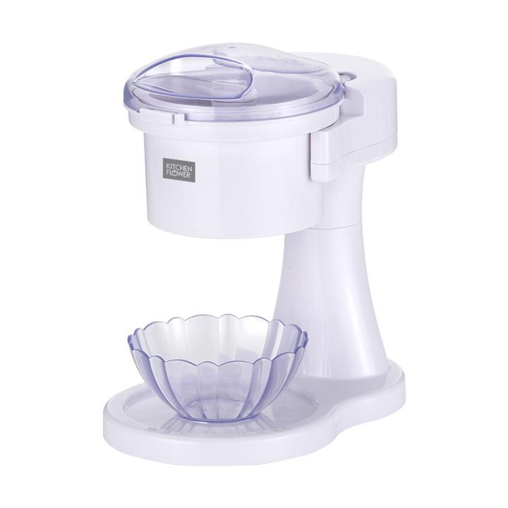 키친플라워 스노우 빙수기, 빙수기 + 빙수용 그릇 2p (POP 1700154303)