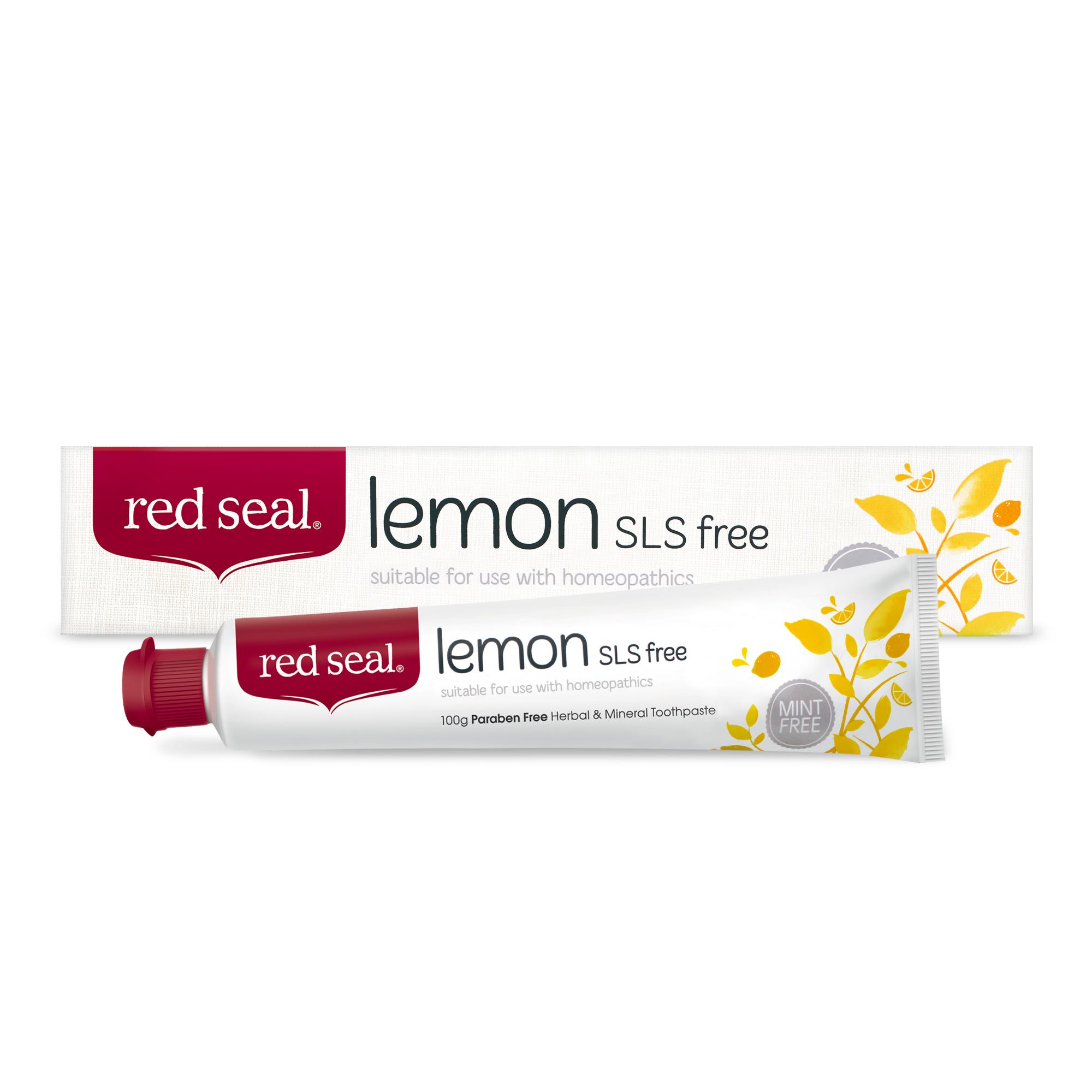 레드씰 레몬 SLS free 치약, 100g, 1개