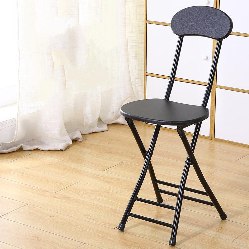 가팡 철제 등받이 접이식 의자, 그레이 5803