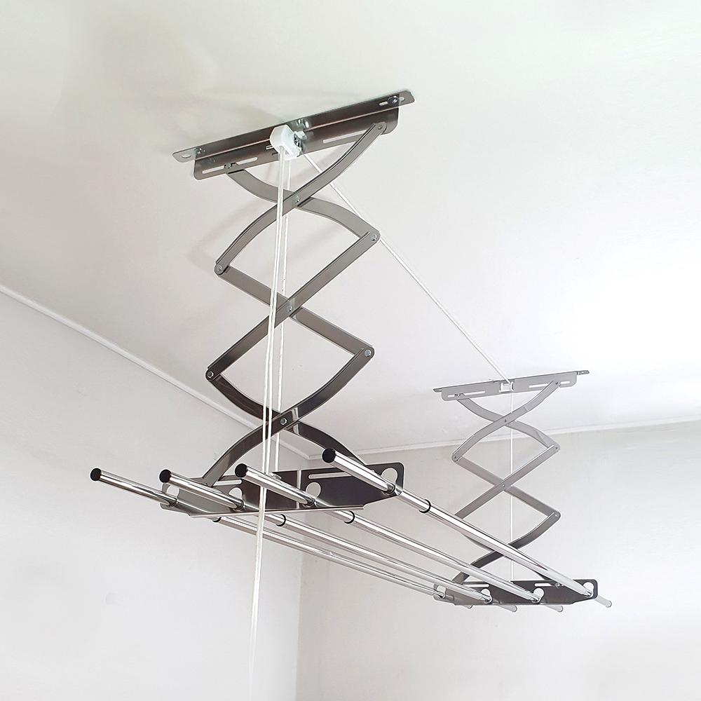 하드웰 올스텐 슬라이드 베란다 천장 빨래건조대 특대형, 1세트